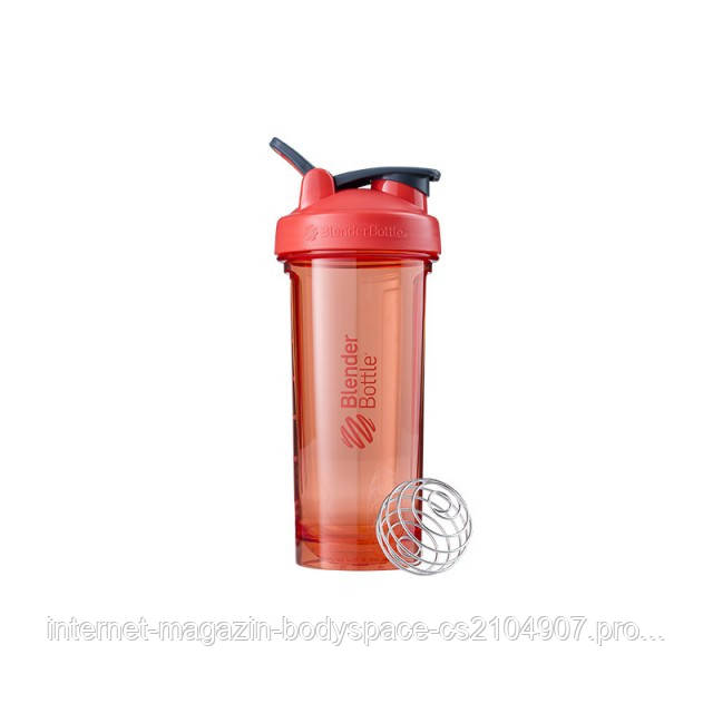 Blender Bottle, Спортивный шейкер-бутылка Pro28 Tritan 28oz/820ml Coral