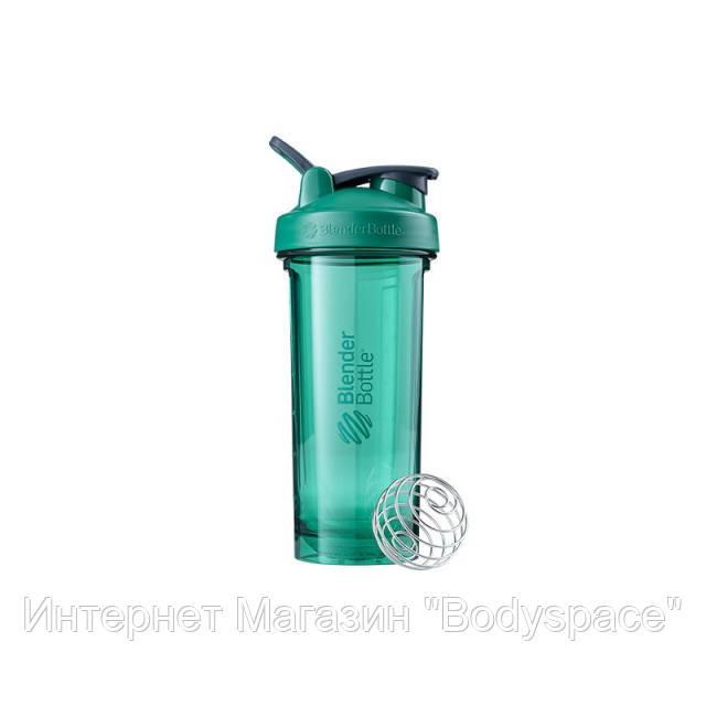 Blender Bottle, Спортивный шейкер-бутылка Pro28 Tritan 28oz/820ml Green