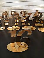Номерки на столи(ЗОЛОТІ)