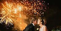 Свадебный салют: пожелайте молодоженам пламенной любви!