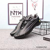 Мужские кожаные кроссовки PUMA FERRARI Future Cat Ultra (3 цвета) 41-45, фото 1