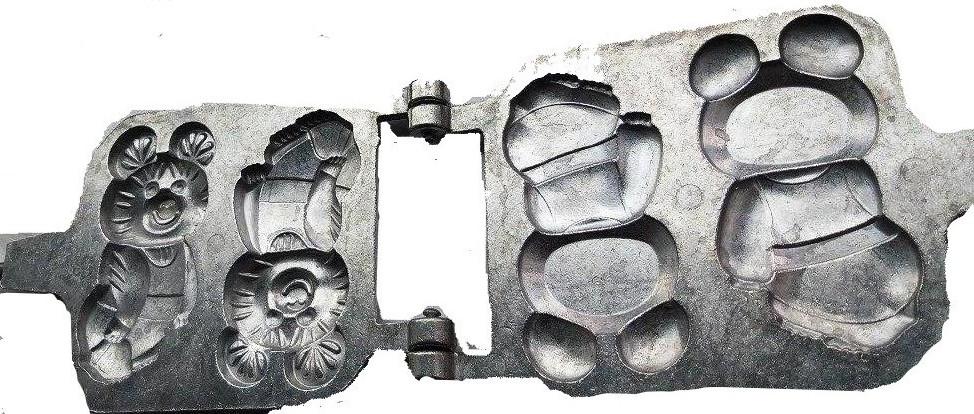 Форма для выпечки печенья Олимпийский Мишка СССР