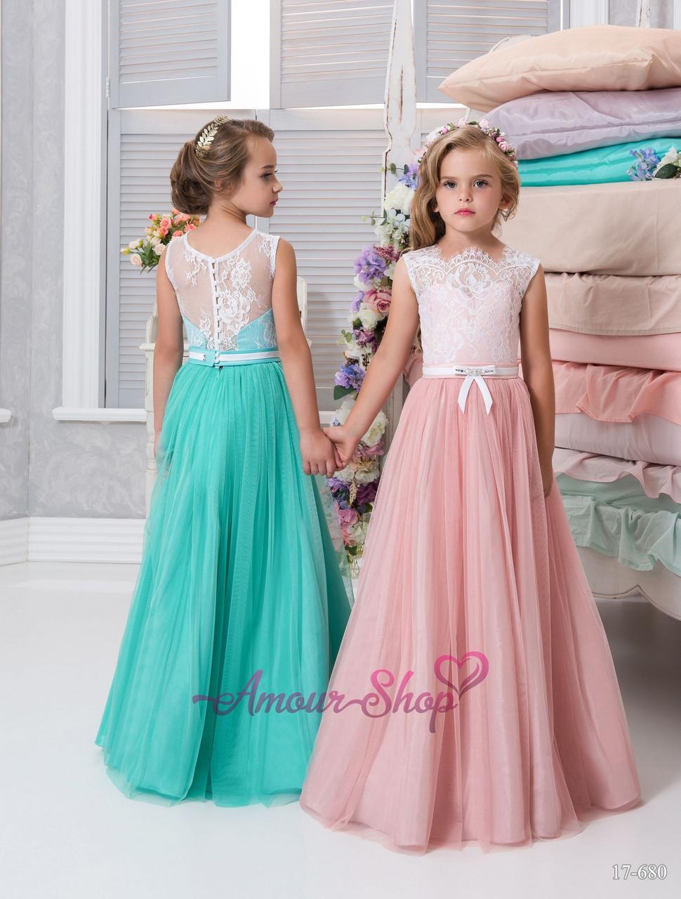 Детское вечернее платье, Family look (выпускной, конкурс, фотосессия, день рождения)