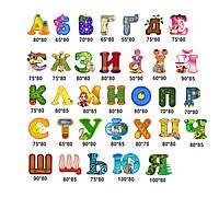 """Набор наклеек для детского сада """"Буквы"""""""