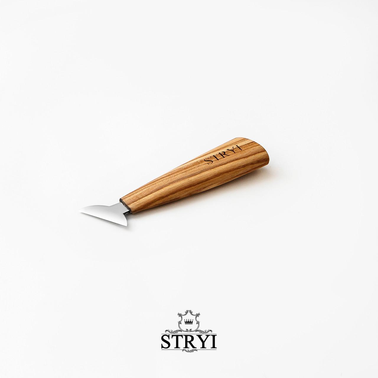 Стамеска нож топорик для резьбы по дереву от производителя, 40 мм