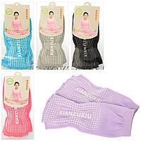 Носки для йоги и танцев без пальцев 1643: размер 35-40, 5 цветов