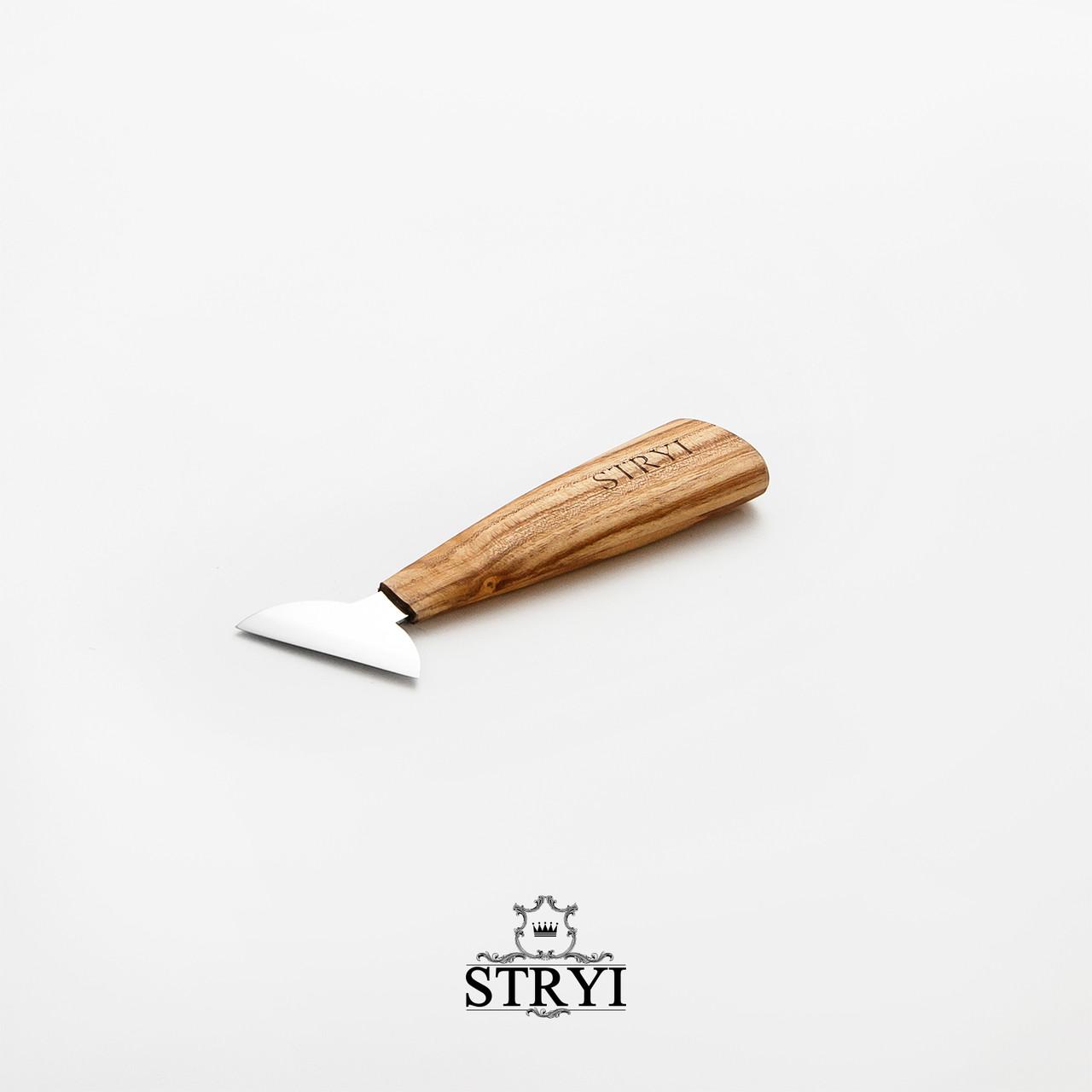 Стамеска нож топорик для резьбы по дереву от производителя STRYI, 50 мм