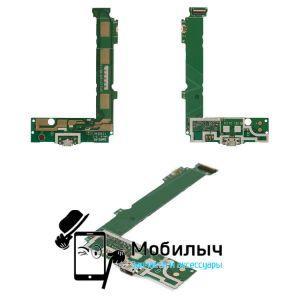 Плата зарядки Nokia 535 Lumia Dual Sim (RM-1090) коннектора зарядки, с микрофоном