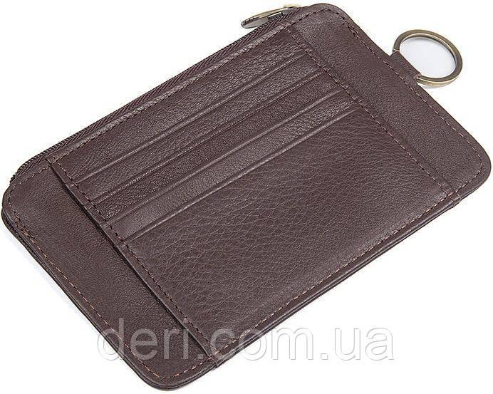 Ключница Vintage 14474 Коричневая, Коричневый