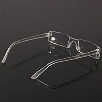 Модная смола Clear Rimless Reader Presbyopic Eyewear Reading Очки - 1TopShop, фото 2