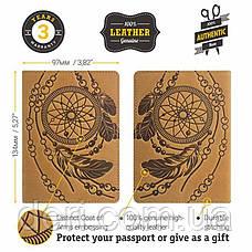 Обложка на паспорт SHVIGEL 15303 Желтая, Желтый, фото 2