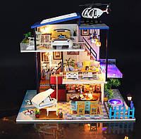 """3D Румбокс """"Домик на берегу моря"""" - Кукольный Дом Конструктор / DIY Doll House от CuteBee"""
