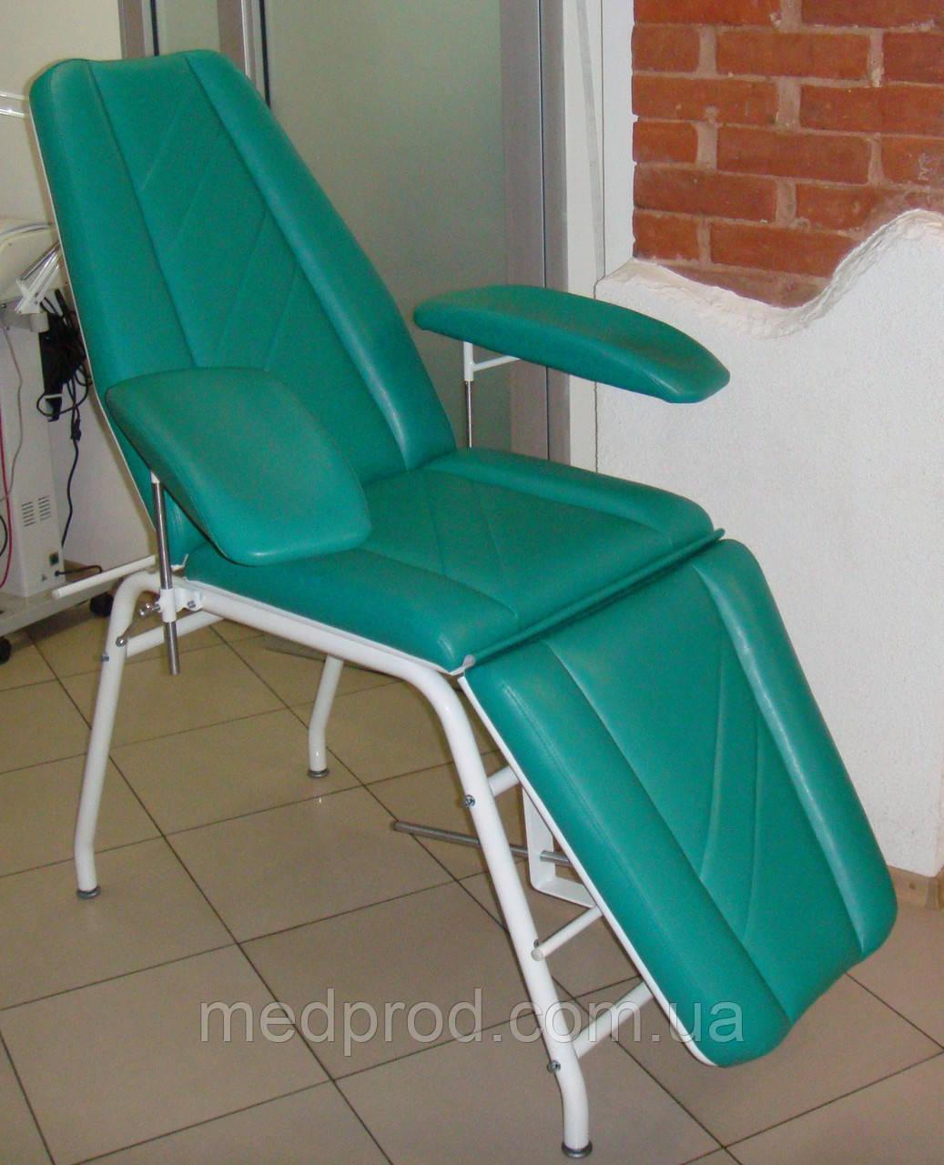 Кресло донора КД-1 для кабинета переливания / взятия крови
