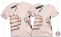 Парные футболки Ф2б-118, фото 1