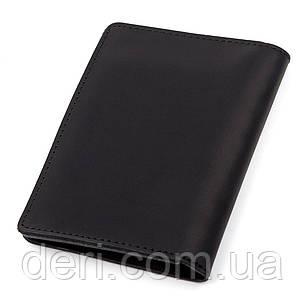 Обложка для автодокументов Shvigel 13923 кожаная Черная, Черный, фото 2