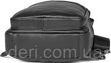 Сумка мужская Vintage 14477 Черная, Черный, фото 3