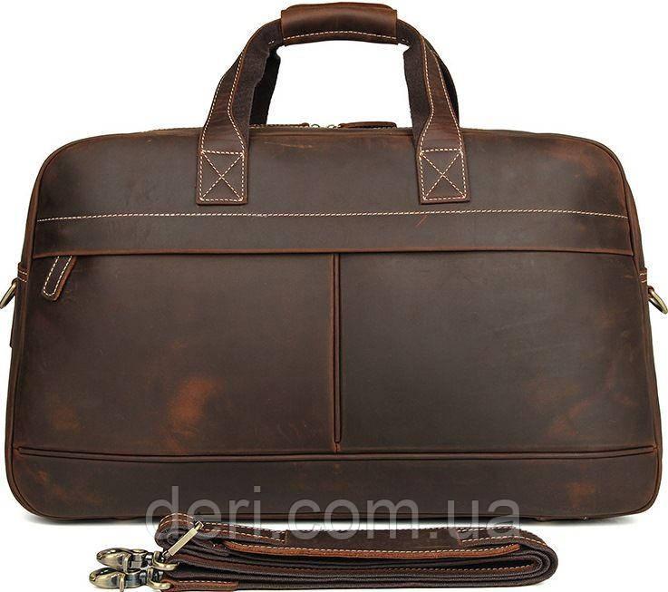 Сумка дорожная Vintage 14505 Коричневая, Коричневый
