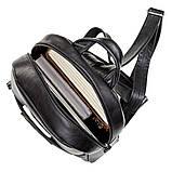 Рюкзак женский SHVIGEL 15304 кожаный Черный, Черный, фото 4