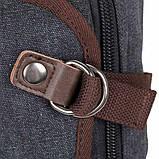 Рюкзак Vintage 14593 Черный, Черный, фото 5