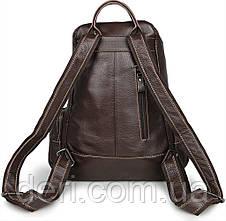 Рюкзак Vintage 14618 кожаный Коричневый, Коричневый, фото 2