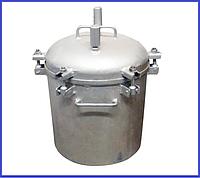 Автоклав Николаевский газовый (0,5л-12 банок, 1л-10 банок)