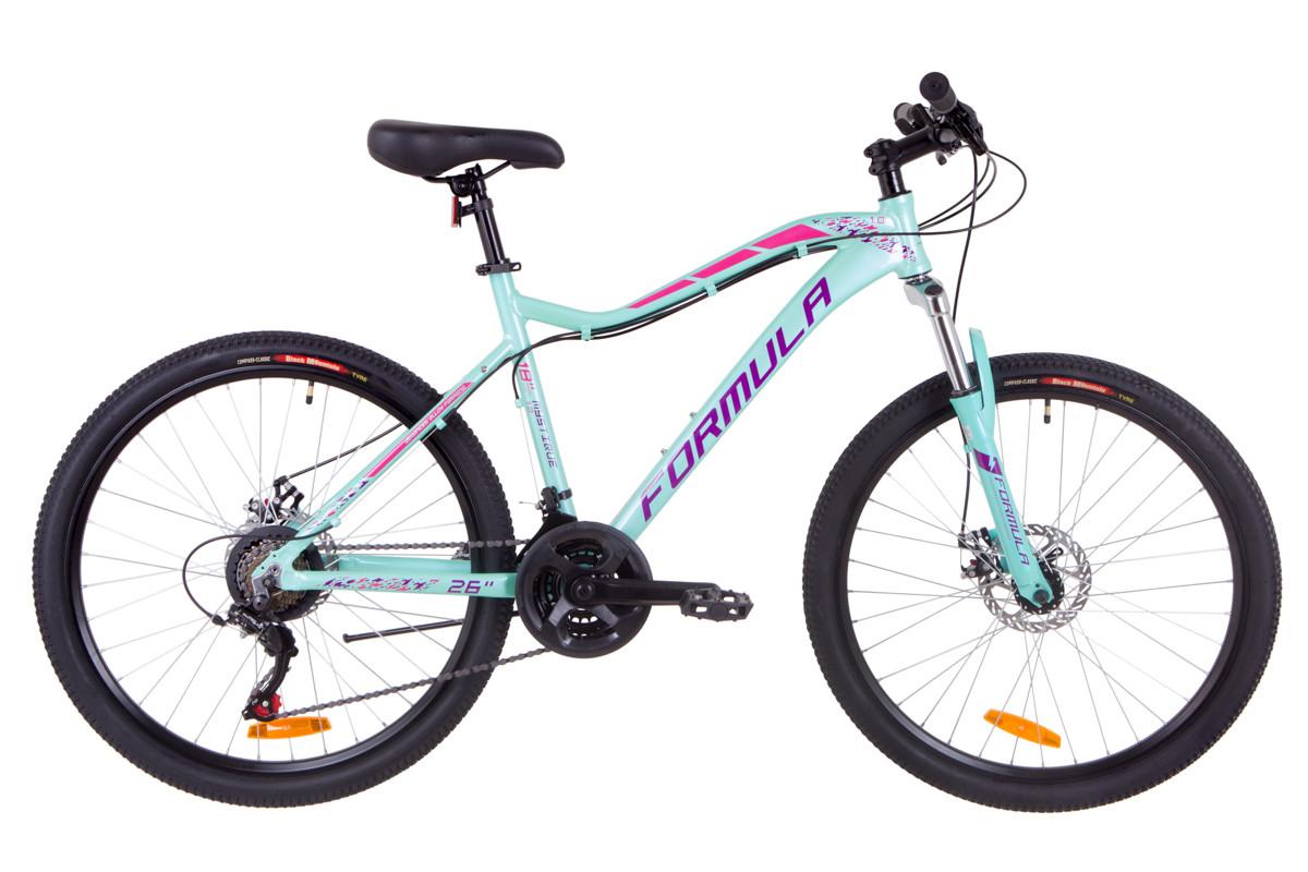 """Велосипед горный женский 26"""" Formula MYSTIQUE 1.0 DD 2019 (бирюзовый)"""