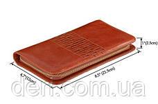 Мужской клатч Vintage 14189 Коричневый, Коричневый, фото 3