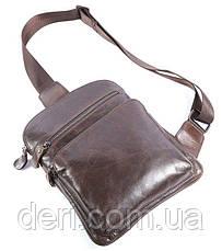 Сумка мужская Vintage 14185 Коричневая, Коричневый, фото 3