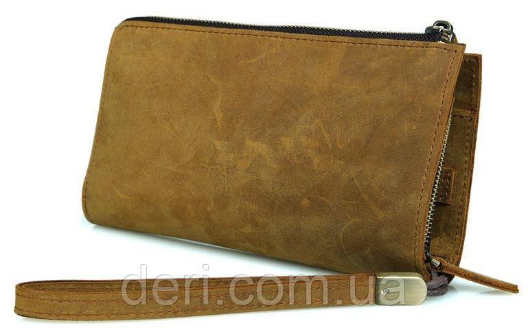 Мужской клатч Vintage 14214 винтажная кожа Рыжий, Коричневый