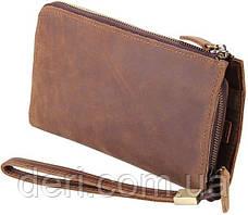 Мужской клатч Vintage 14214 винтажная кожа Рыжий, Коричневый, фото 2