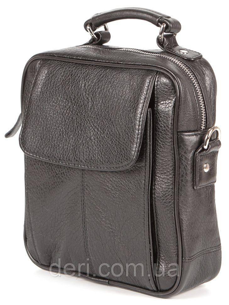 Сумка SHVIGEL 00875 из высококачественной кожи Черная, Черный