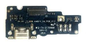 Плата зарядки Asus ZenFone Go (ZB551KL) с разъемом зарядки с виброзвонком с микрофоном