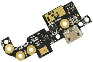 Плата зарядки Asus ZenFone Zoom (ZX551ML) с разъемом зарядки с микрофоном