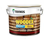 Грунтувальний антисептик для дерева Teknos Woodex Aqua Base 3л
