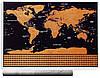 Скретч карта мира в тубусе My Scratch Map