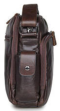 Сумка мужская Vintage 14369 Коричневая, Коричневый, фото 3