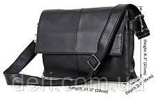 Сумка мужская Vintage 14409 Черная, Черный, фото 2