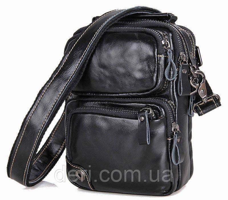 Сумка мужская Vintage 14437 Черная, Черный