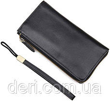 Мужской клатч Vintage 14442 Черный, Черный, фото 3