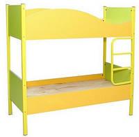 Детская кровать 2-ярусная (Лайм Апельсин)
