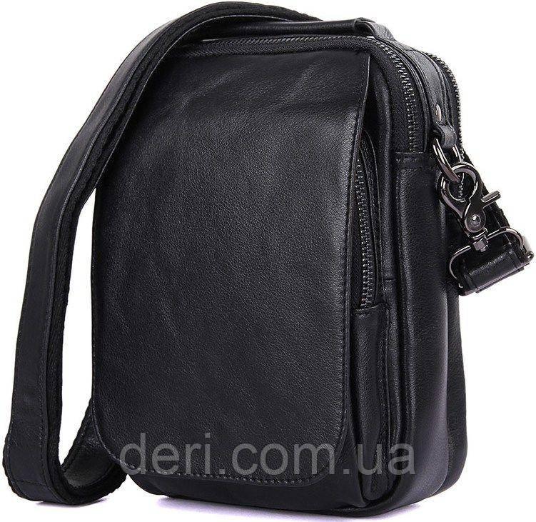 Сумка мужская Vintage 14451 Черная, Черный