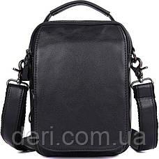 Сумка мужская Vintage 14451 Черная, Черный, фото 2