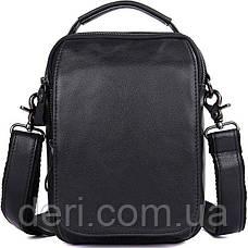 Сумка мужская Vintage 14451 Черная, Черный, фото 3
