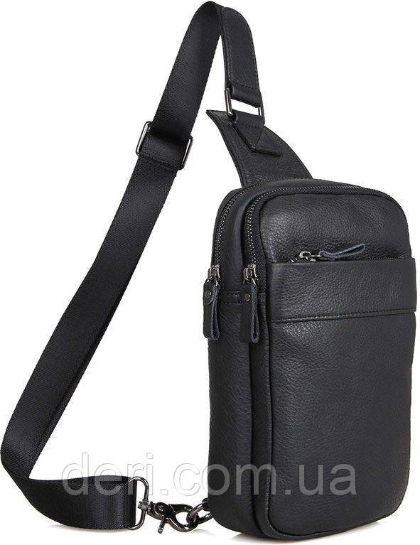 Сумка мужская Vintage 14454 Черная, Черный