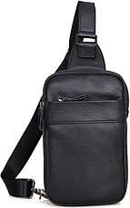 Сумка мужская Vintage 14454 Черная, Черный, фото 2