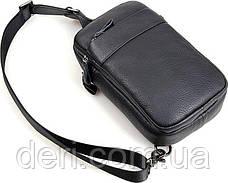 Сумка мужская Vintage 14454 Черная, Черный, фото 3