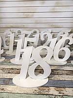 Номерки на столи(БІЛІ), фото 1