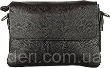 Мужская сумка SHVIGEL 11038 кожаная, Черная, Черный, фото 2