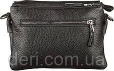 Мужская сумка SHVIGEL 11038 кожаная, Черная, Черный, фото 3