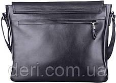 Сумка SHVIGEL 11039 кожаная Черная, Черный, фото 2